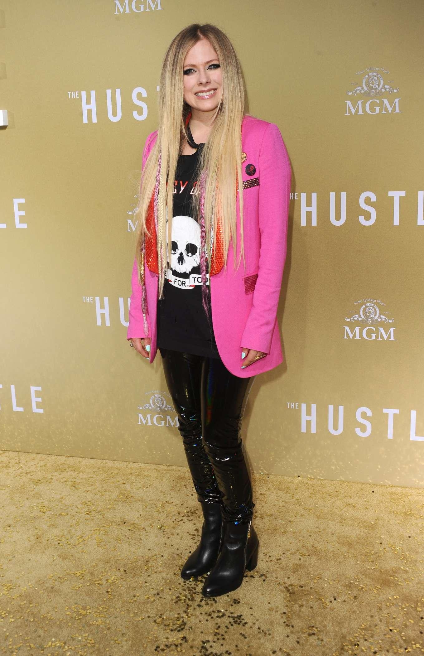 Avril Lavigne 2019 : Avril Lavigne: The Hustle LA Premiere -18