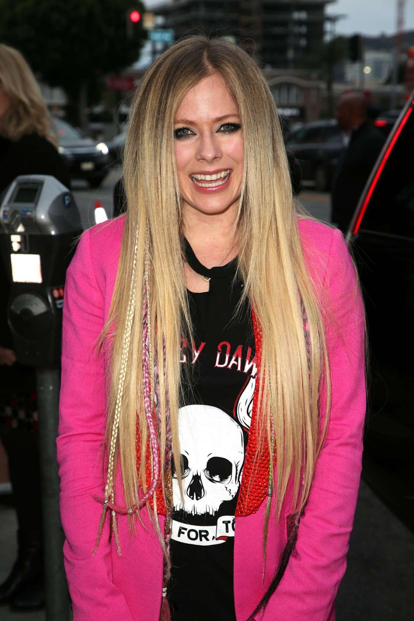 Avril Lavigne 2019 : Avril Lavigne: The Hustle LA Premiere -22