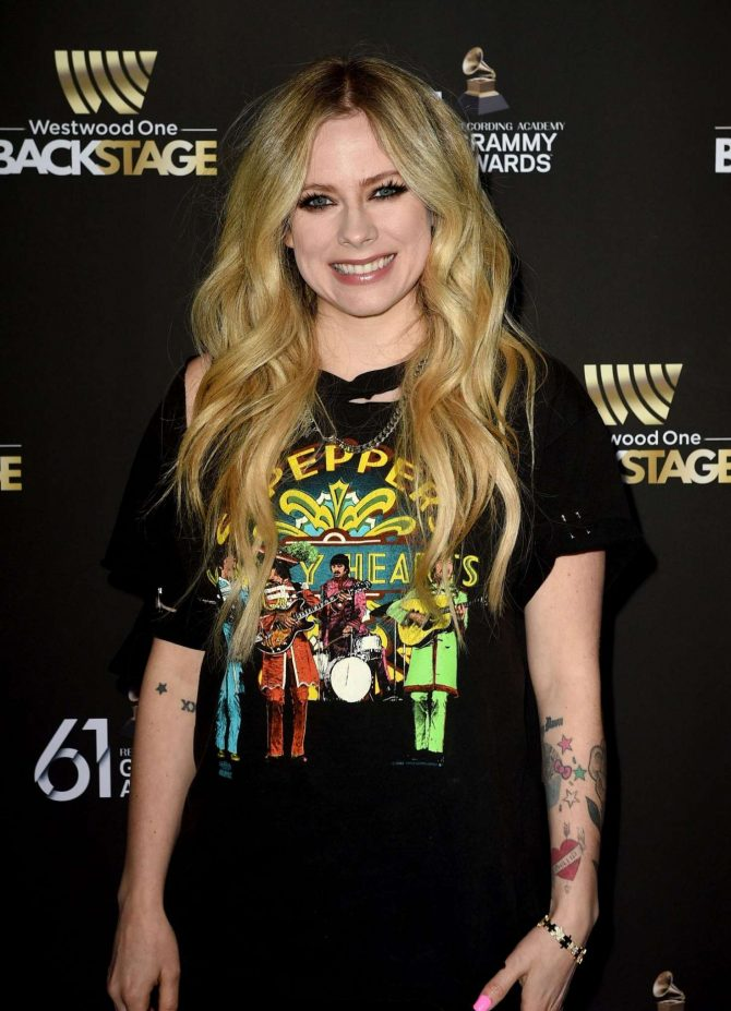 Avril Lavigne - Westwood One Radio Roundtables in LA