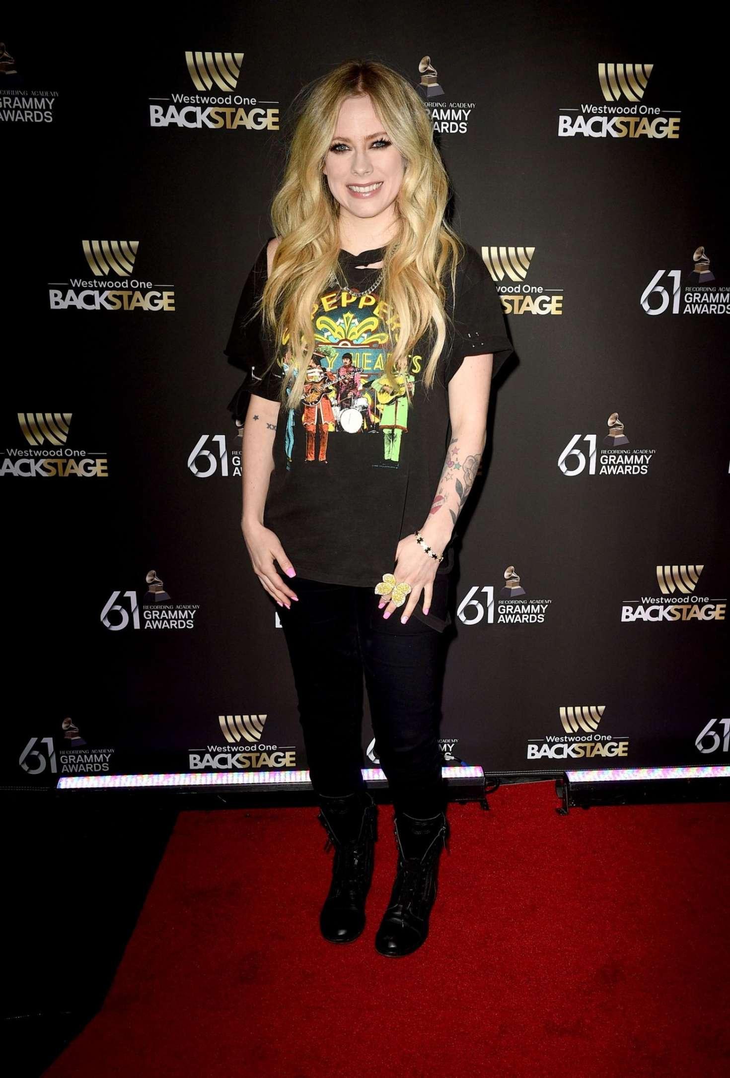 Avril Lavigne 2019 : Avril Lavigne: Westwood One Radio Roundtables -03