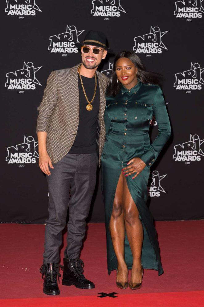 Awa Imani - 2017 NRJ Music Awards Ceremony in Cannes