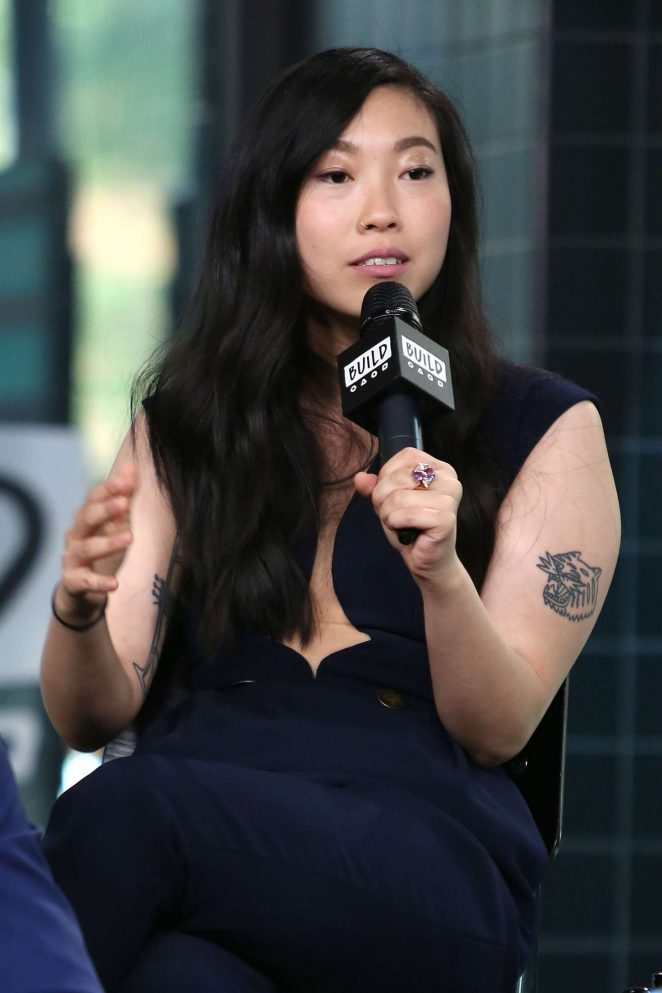 Awkwafina at AOL Build Speaker Series in New York