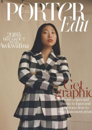 Awkwafina - The Edit by Net-A-Porter (December 2018)