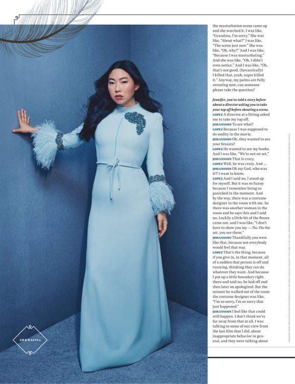 Awkwafina - The Hollywood Reporter Magazine (November 2019)