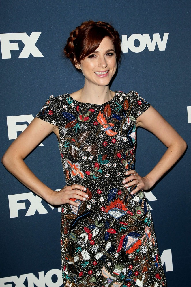 Aya Cash - 2015 FX Bowling Party in NYC