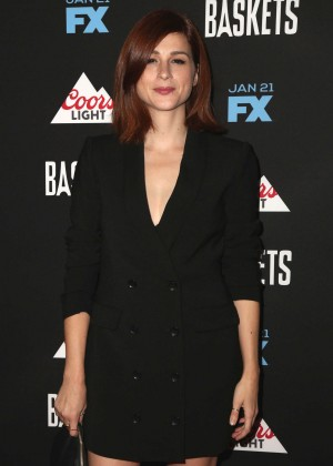 Aya Cash - 'Baskets' Red Carpet Event in West Hollywood