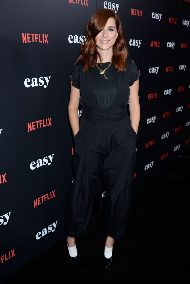 Aya Cash - 'Easy' Premiere in West Hollywood