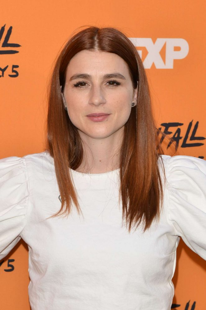 Aya Cash - 'Snowfall' Premiere in Los Angeles