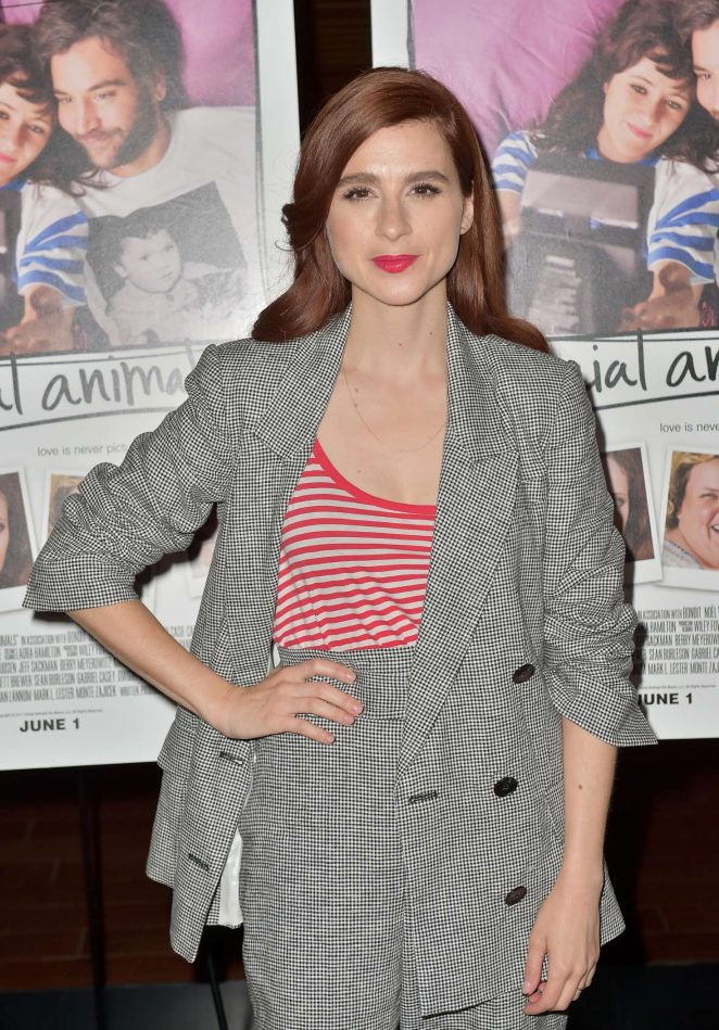 Aya Cash - 'Social Animals' Premiere in Los Angeles