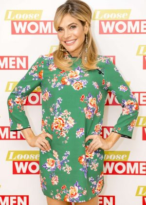 Ayda Field - 'Loose Women' Show in London