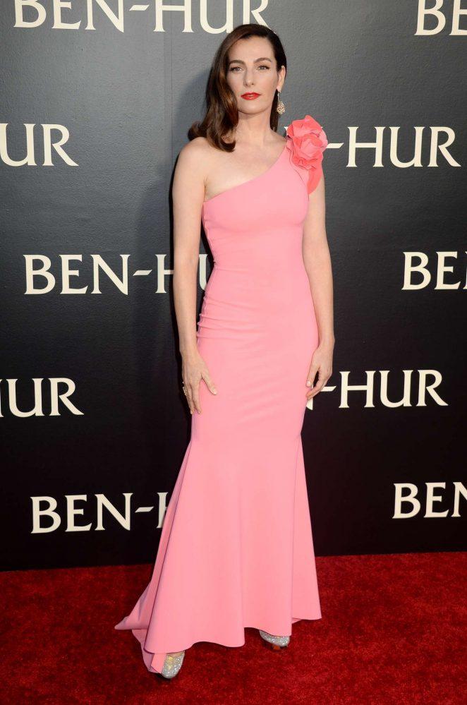 Ayelet Zurer - 'Ben-Hur' Premiere in Los Angeles