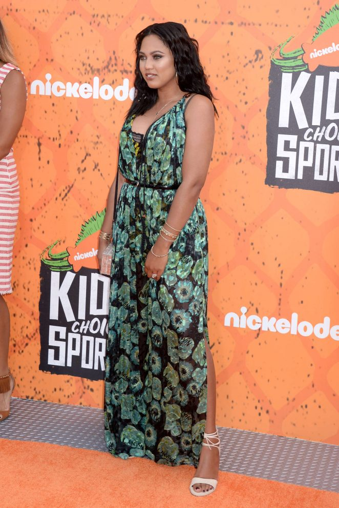 Ayesha Curry - 2016 Nickelodeon's Kids' Choice Sports Awards in Westwood