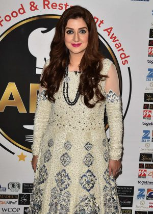 Ayesha Sana - The First Annual Asian Food and Restaurant Awards 2017 in London
