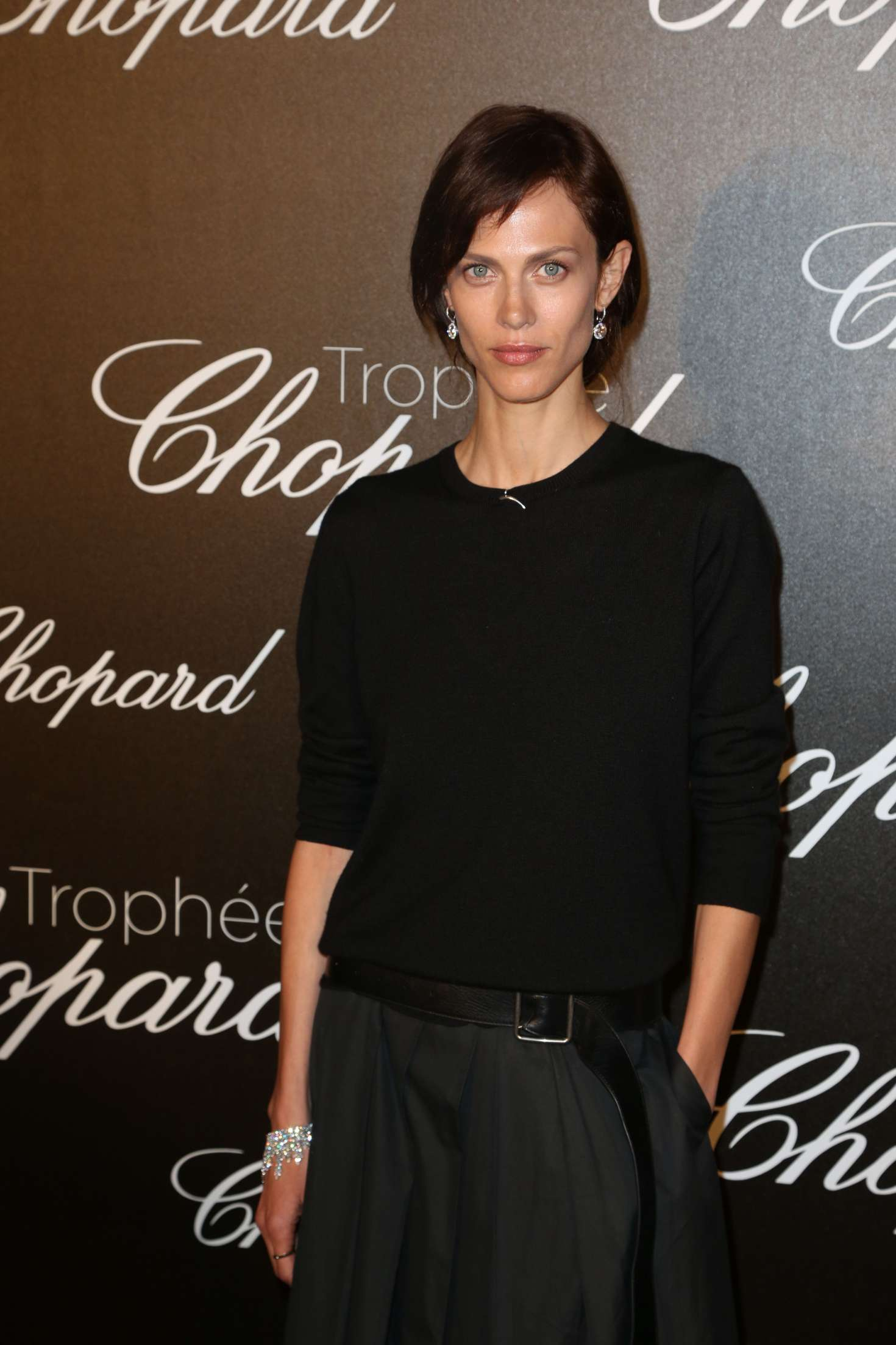 Aymeline Valade 2017 : Aymeline Valade: Chopard Trophee Event at 70th Cannes Film Festival -04