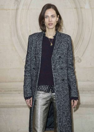Aymeline Valade - Christian Dior Fashion Show 2018 in Paris