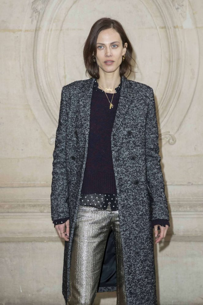 Aymeline Valade - Christian Dior Fashion Show 2018 in Paris