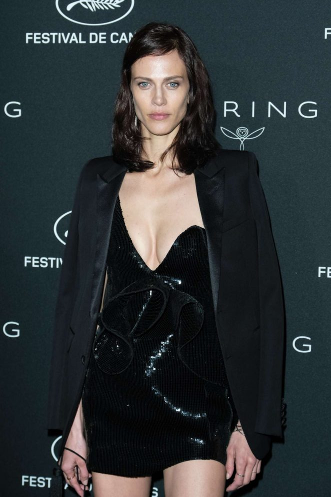Aymeline Valade - Kering Women in Motion Awards Dinner at 2018 Cannes Film Festival