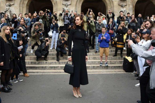 Aymeline Valade 2017 : Aymeline Valade – Stella McCartney Fashion Show in Paris-01