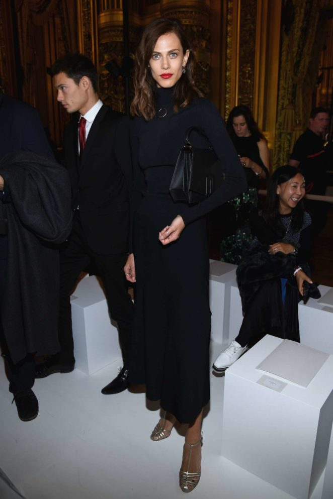 Aymeline Valade 2017 : Aymeline Valade – Stella McCartney Fashion Show in Paris-06