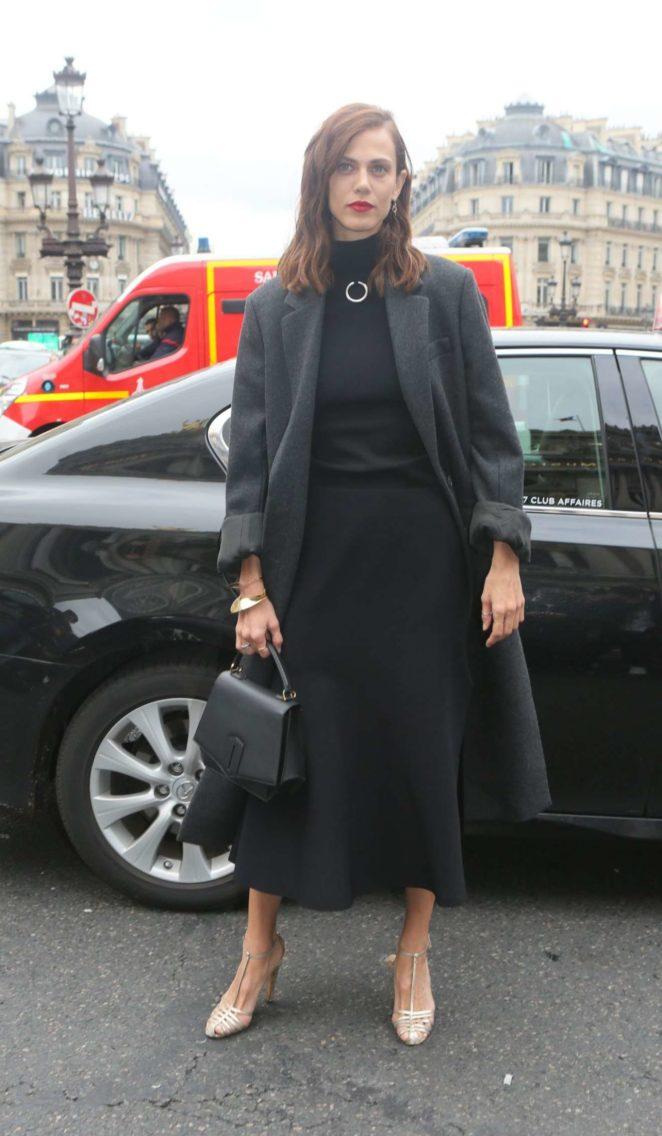 Aymeline Valade – Stella McCartney Fashion Show in Paris