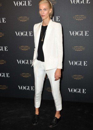 Aymeline Valade - Vogue 95th Anniversary Party in Paris