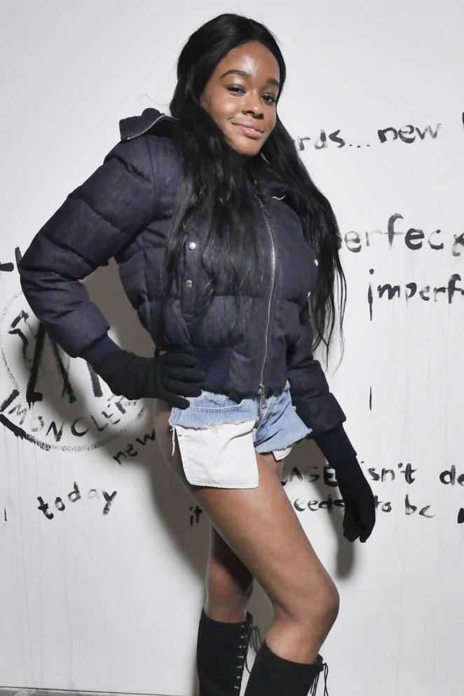 Azealia Banks - Moncler and Greg Lauren 'Collide' Party in Paris