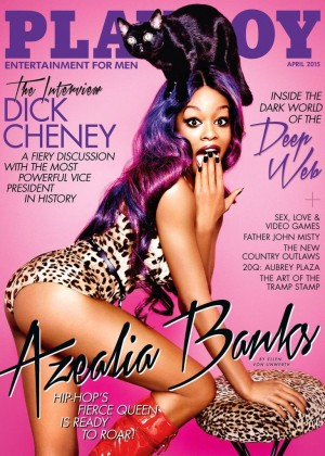 Azealia Banks - Playboy Cover (April 2015)