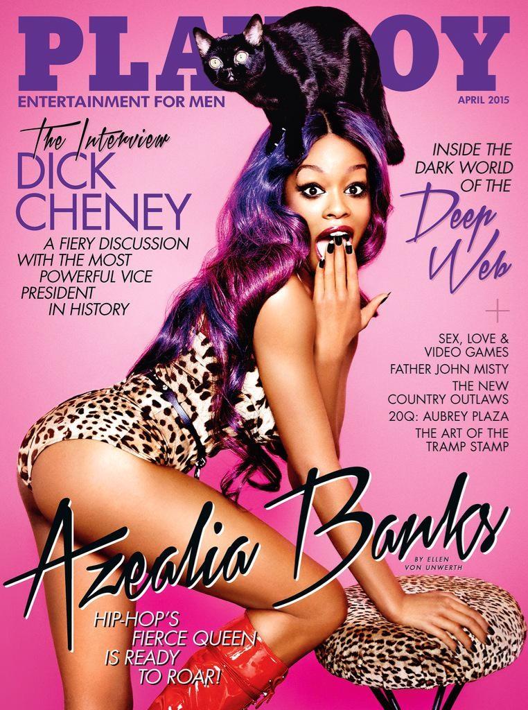 Azealia Banks - Playboy Cover (April 2015)