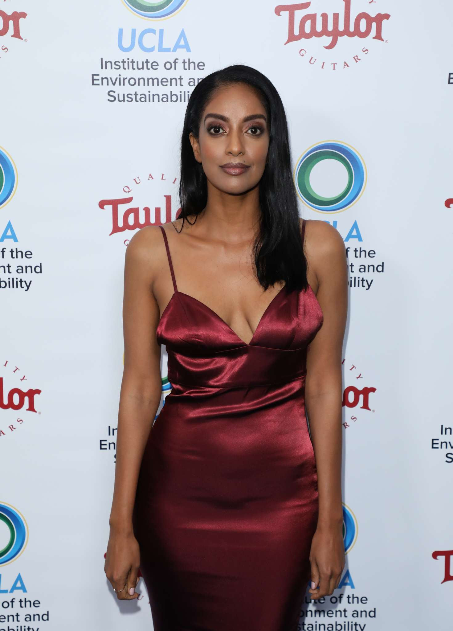 Azie Tesfai 2018 : Azie Tesfai: 2018 UCLAs Institute of the Environment and Sustainability Gala -01