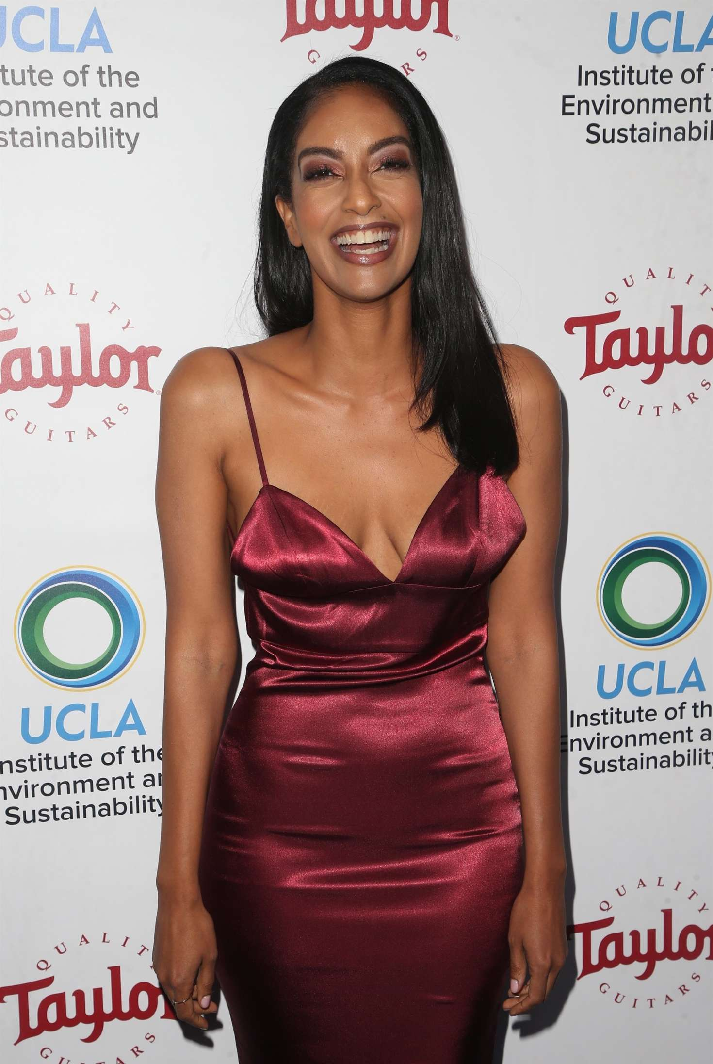 Azie Tesfai 2018 : Azie Tesfai: 2018 UCLAs Institute of the Environment and Sustainability Gala -03