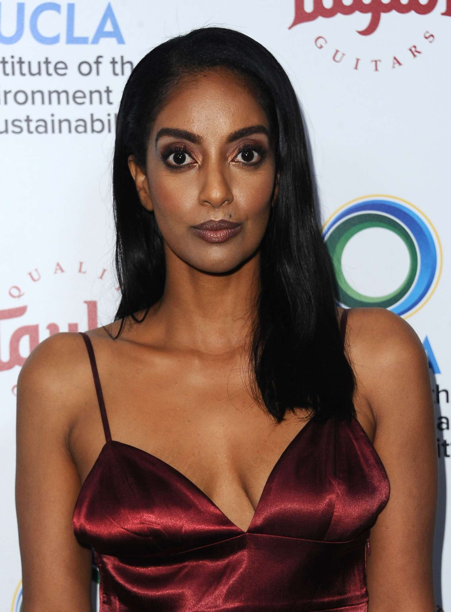 Azie Tesfai 2018 : Azie Tesfai: 2018 UCLAs Institute of the Environment and Sustainability Gala -05