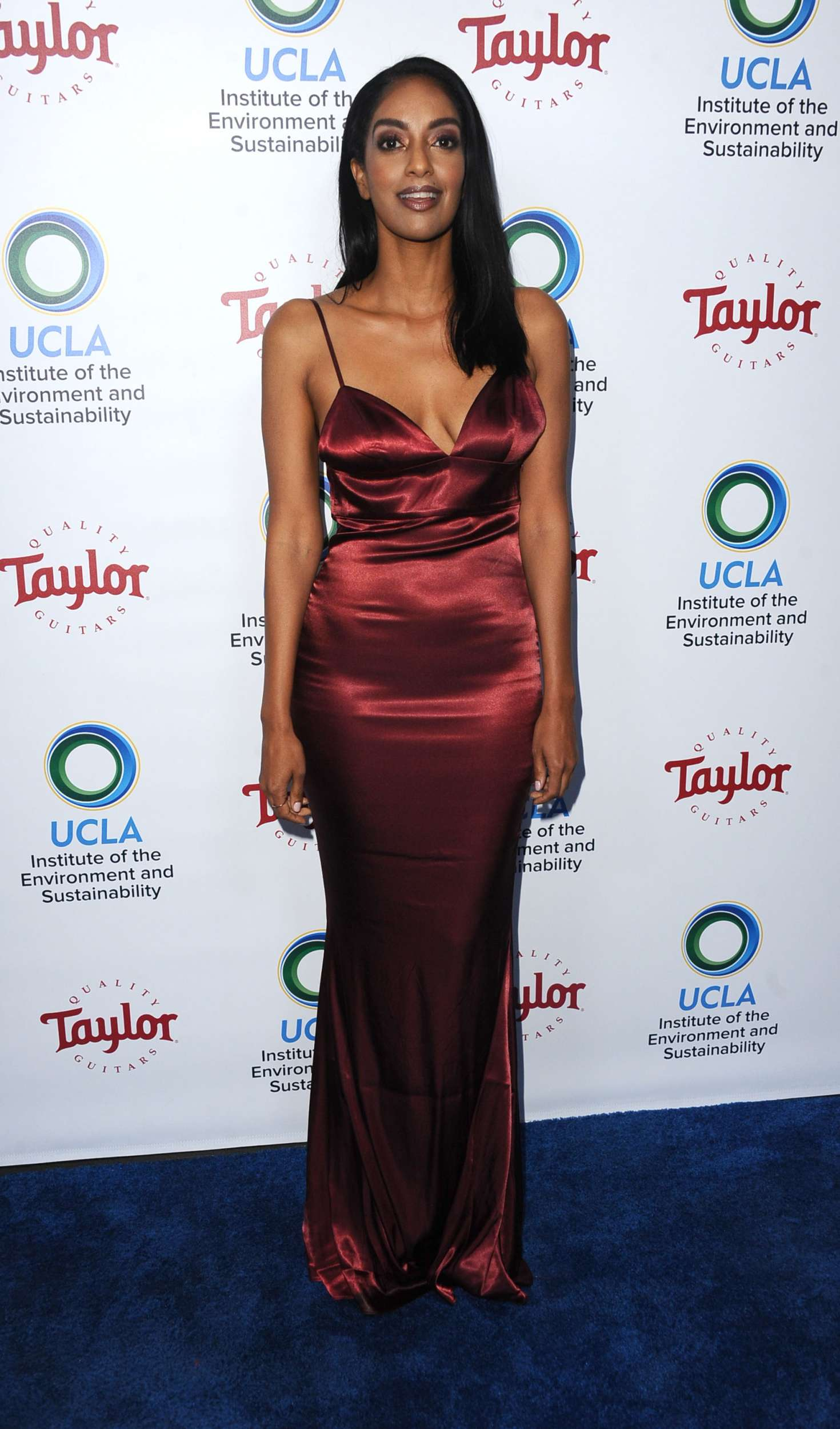 Azie Tesfai 2018 : Azie Tesfai: 2018 UCLAs Institute of the Environment and Sustainability Gala -08