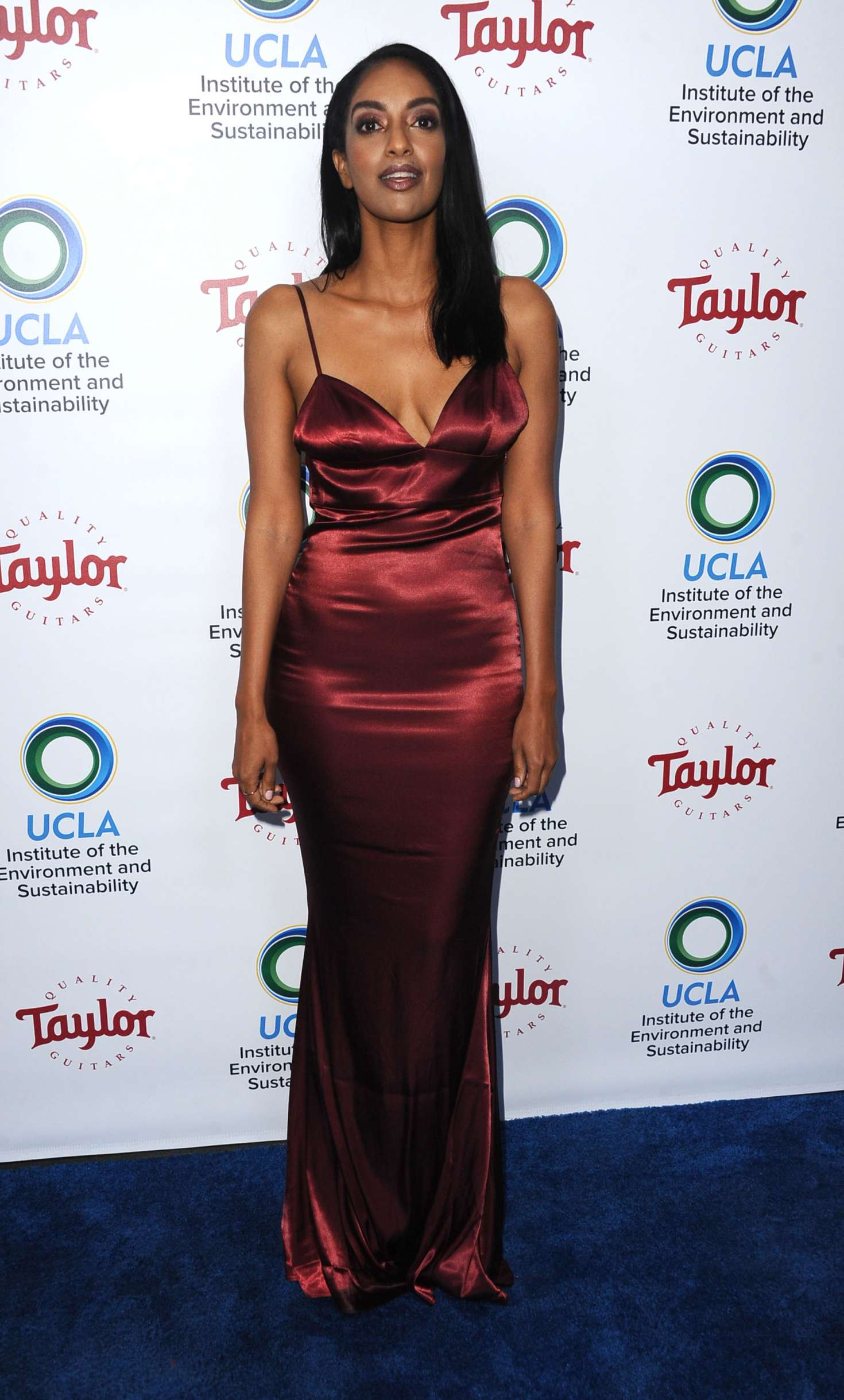 Azie Tesfai 2018 : Azie Tesfai: 2018 UCLAs Institute of the Environment and Sustainability Gala -09