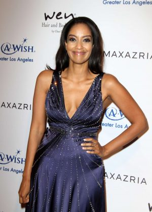 Azie Tesfai - BCBG Make-A-Wish Fashion Show in Los Angeles