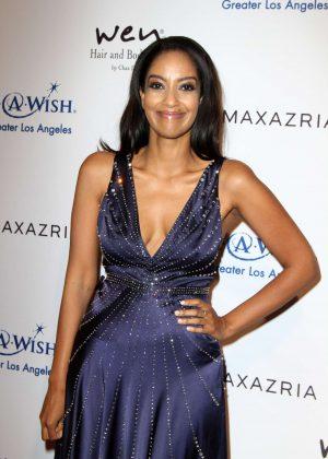 Azie Tesfai - BCBG Make-A-Wish Fashion Show in Los Angeles