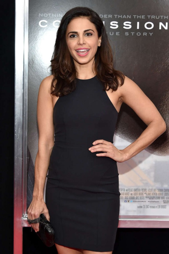 Azita Ghanizada - 'Concussion' Premiere in New York City