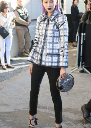 Bai Baihe – Chanel Fashion Show, Paris Fashion Week in Paris