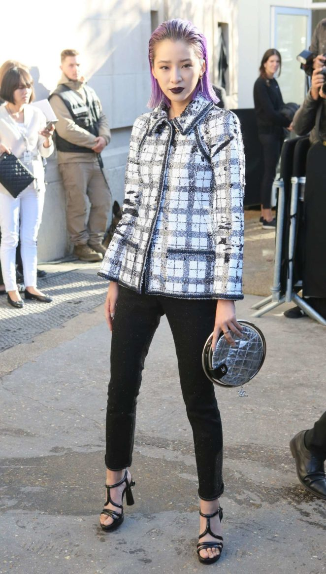 Bai Baihe – Chanel Fashion Show, Paris Fashion Week in Paris