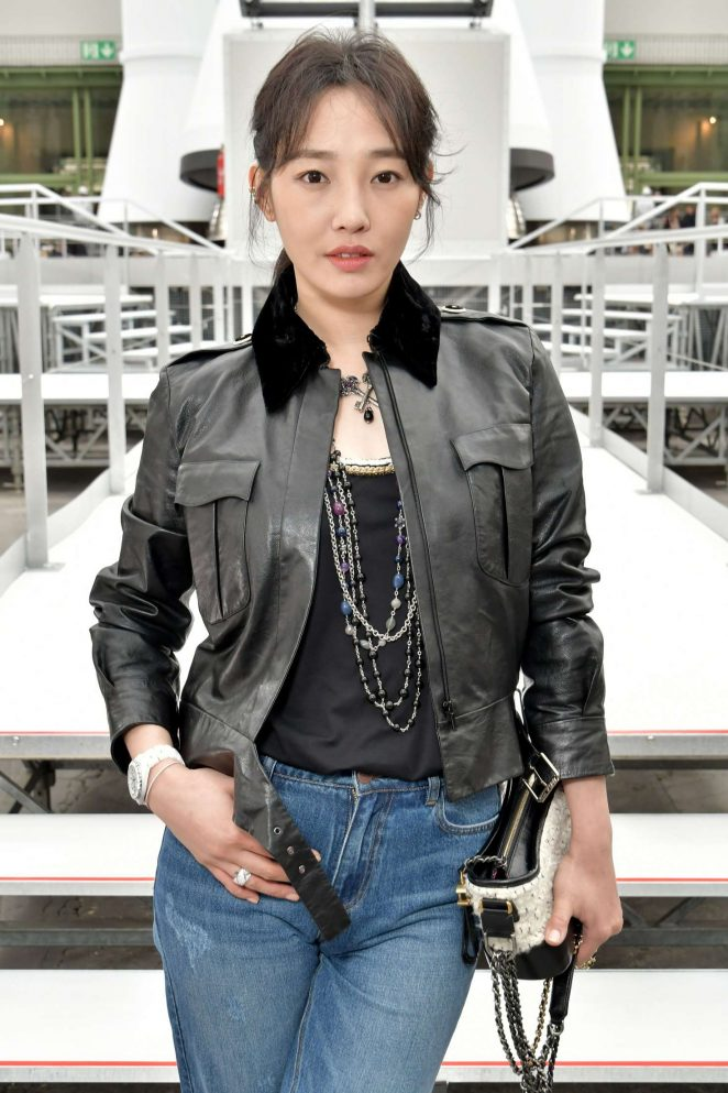 Bai Baihe - Chanel Show at 2017 PFW in Paris