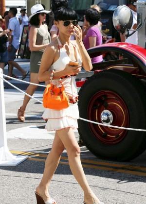 Bai Ling: Beverly Hills Auto Exhibit -04
