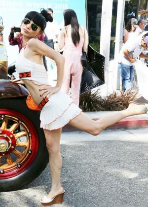 Bai Ling: Beverly Hills Auto Exhibit -10