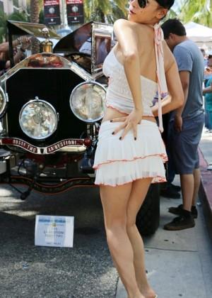 Bai Ling: Beverly Hills Auto Exhibit -15