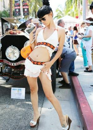 Bai Ling: Beverly Hills Auto Exhibit -17
