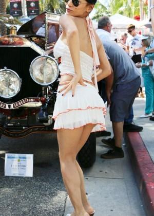 Bai Ling: Beverly Hills Auto Exhibit -18