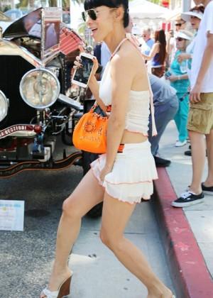 Bai Ling: Beverly Hills Auto Exhibit -32