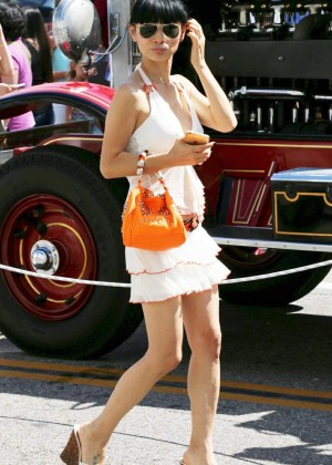 Bai Ling: Beverly Hills Auto Exhibit -33