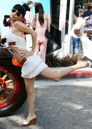 Bai Ling: Beverly Hills Auto Exhibit -34