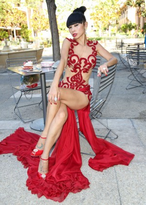 Bai Ling - Celebrating her 49th Birthday in Beverly Hills