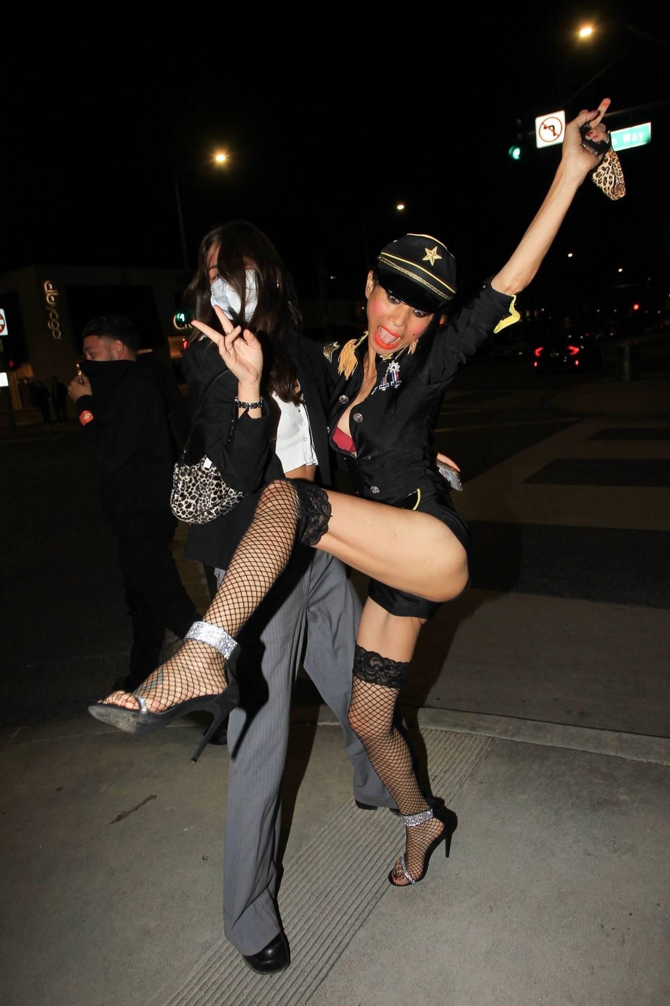 Bai Ling 2020 : Bai Ling – In a custom uniform in Beverly Hills-03