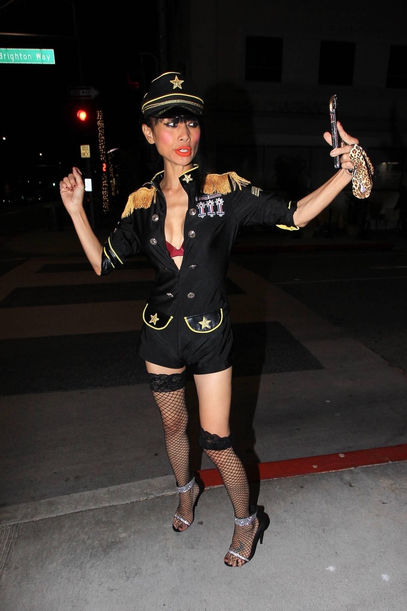 Bai Ling 2020 : Bai Ling – In a custom uniform in Beverly Hills-05